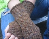 Fingerless Knit Gloves, Adult small, teen, wrist warmers, arm warmers