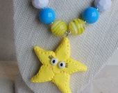 Starfish Chunky Necklace