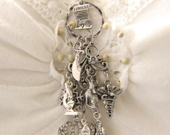 Magic Rises Inspired Charm Necklace - Kate Daniels - Urban Fantasy - ShapeShifter - Vampire - Book Swag - Theme Jewelry - Ilona Andrews