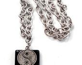 Yin-Yang Men's Necklace