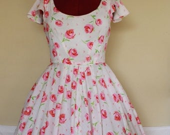 Vanilla Cream Soda Swing Dress - Custom Made