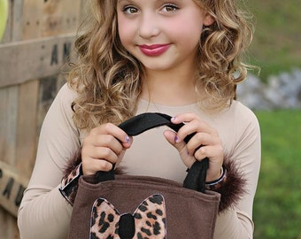 Leopard Treat Bag