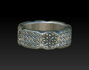 wedding band  celtic ring   celtic band    celtic wedding band  mens ring wedding band for women ladies wedding rings unisex ring      ZB13