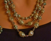1950's Matching Earrings and Necklace Set