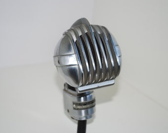 Vintage 1950's Turner Dynamic Model 33D Microphone - Streamlined Jet Age Microphone