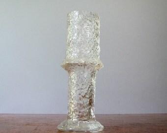 Mid Century iittala Nardus Glass Vase Timo Sarpaneva