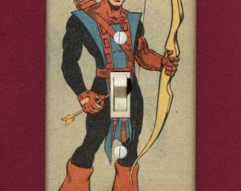 Hawkeye - Superhero Light Switch Plate