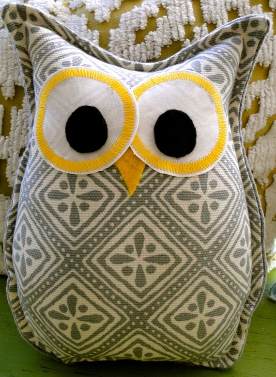 How To Make Cute Owl Pillows : Owl Pillow