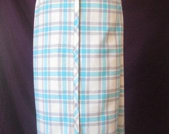 1950s Bobbie Brooks Pleated Pencil Skirt