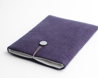Macbook Pro 15 inch sleeve, Macbook Pro 15 2016 case, Macbook Pro 2017 sleeve, violet, minimal, available with a pocket