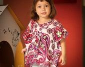 Toddler girl summer top size 3T kaftan cute gift
