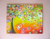 Colorful Dream - Original Acrylic Abstract painting 24 x 20