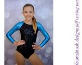 Leotards 4 pdf sewing pattern gymnastics long sleeve raglan sleeve leotard