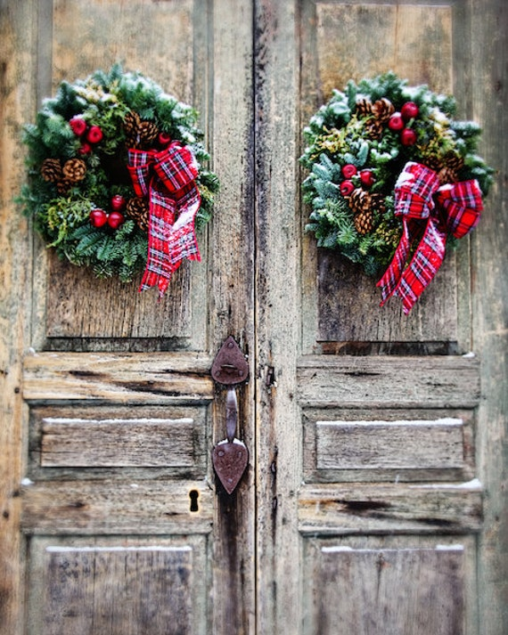 Top 25 ideas para decorar la puerta en navidad decorar - Ideas para decorar la puerta en navidad ...