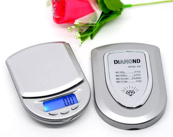 10 Electronic Scales - WHOLESALE - Digital Mini LCD Pocket Scale - 0.1 Grams - 500 Grams -  Ships IMMEDIATELY  from California - P20b