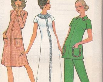 70s Dress, Tunic & Pants Pattern McCalls 3416 Size 16