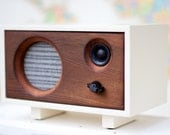 Wood Desk Speaker || Reclaimed Wood Wireless Bluetooth Speaker || Fawn Speaker | Heirloom & Stable Wood - FREE SHIPPING