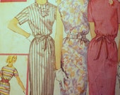 Simple to make Simple to wear Women's One Piece day dress Simplicity 3780