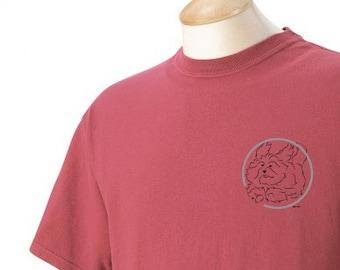 Havanese Agility Garment Dyed Cotton T-shirt