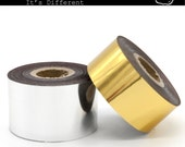 Foil roll for leather stamp foil stamping Gold Silver Pink