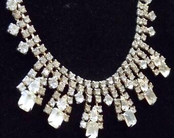 Rhinestone Choker Necklace