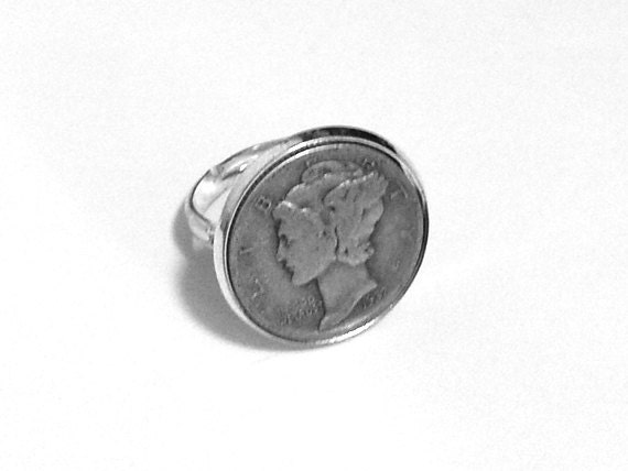 Mercury Dime Ring Dime In Diamond Ring Play On. Jewellery Design Rings. Ravi Name Engagement Rings. Aquarius Birthstone Engagement Rings. Neil Lane Rings. Wedding Ceremony Wedding Rings. Themed Wedding Wedding Rings. Benitoite Wedding Rings. Rhodium Plated Engagement Rings