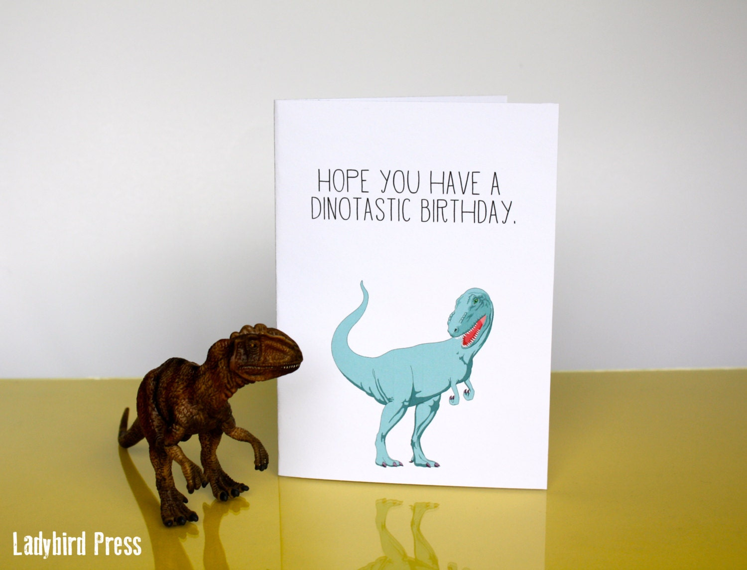 Printable Funny Birthday Card Dinosaur Happy Birthday