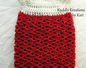 Lacy Shell Dress Crochet Pattern