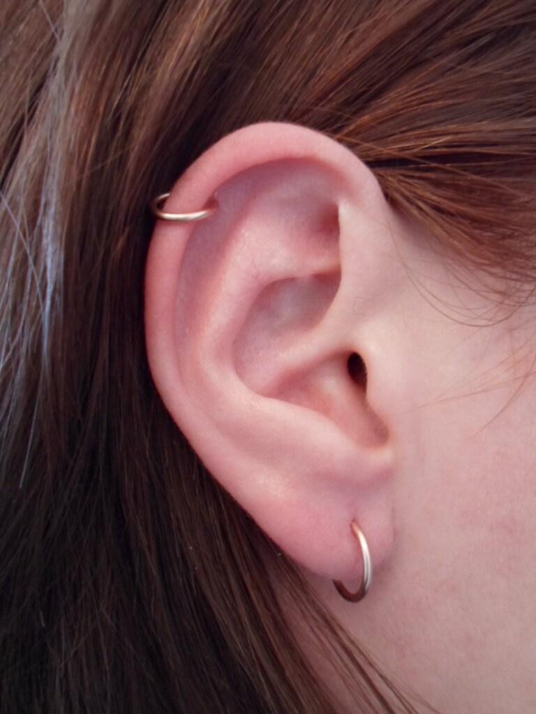 Eyebrow Piercing Loop Ring