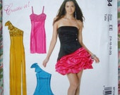 McCall's Misses' Dress Pattern MP334 (Also Called M6283) - Size 6-12 and 14-20