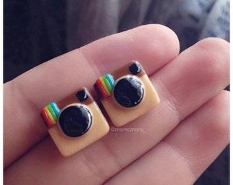 Super Kawaii Instagram APP Earrings
