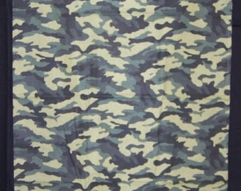 Green Camo Pillowcase
