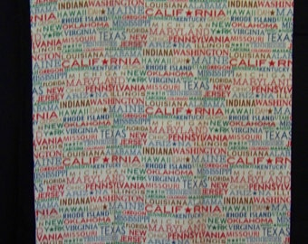 Travel USA Pillowcase