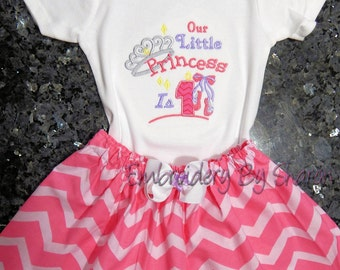 Baby girl 1st birthday outfit, My 1st  Birthday Outfit.Princess first birthday outfit, Princess outfit, chevron outfit,