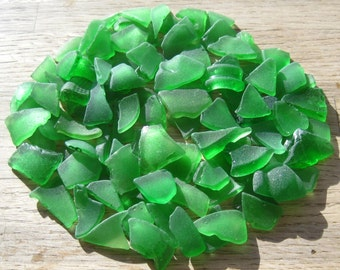 Bulk Sea Glass Beach Glass Craft Supplies Green