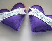 Mi Amor Catnip Cat Toy Purple Heart