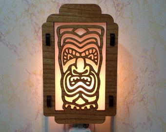 Tiki Night Light