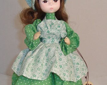 """Vintage 80's Bradley's  """"Miss March"""" Collector Doll"""