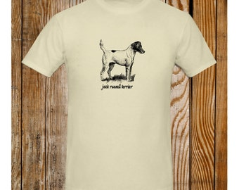 Jack Russell Terrier T-Shirt Vintage Illustration
