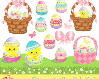 Easter1 Clip Art Set