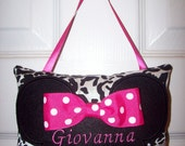 Personalized Minnie Mouse Mini Pillow Door Knob Hanger
