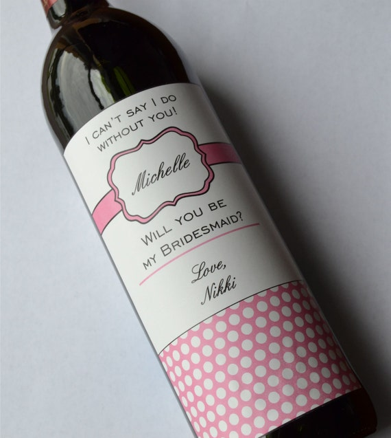 Custom Wine Labels For Wedding Gift : ... Gifts Guest Books Portraits & Frames Wedding Favors All Gifts