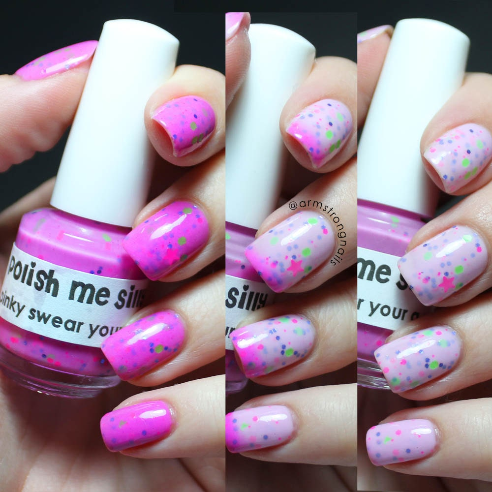 Pinky Swear I'm A Star Color Changing Thermal Nail