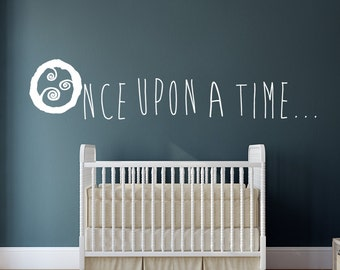 Once upon a time Wall Art Decal Decor Baby Room