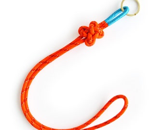 Orange / Aqua Camp Lanyard