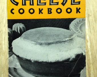 The Cheese Cookbook Marye Dahnke Signed Copy Paperback Vintage Cookbook