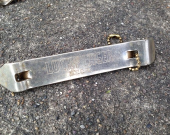Lucky Lager Beer Crown Bottle Opener Vintage Advertising Breweriana