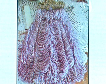 Beaded Bag Pattern, Lilleth 0014, A Victorian Style Beaded Knit Purse by Barbara Pratt, 2002 Uncut