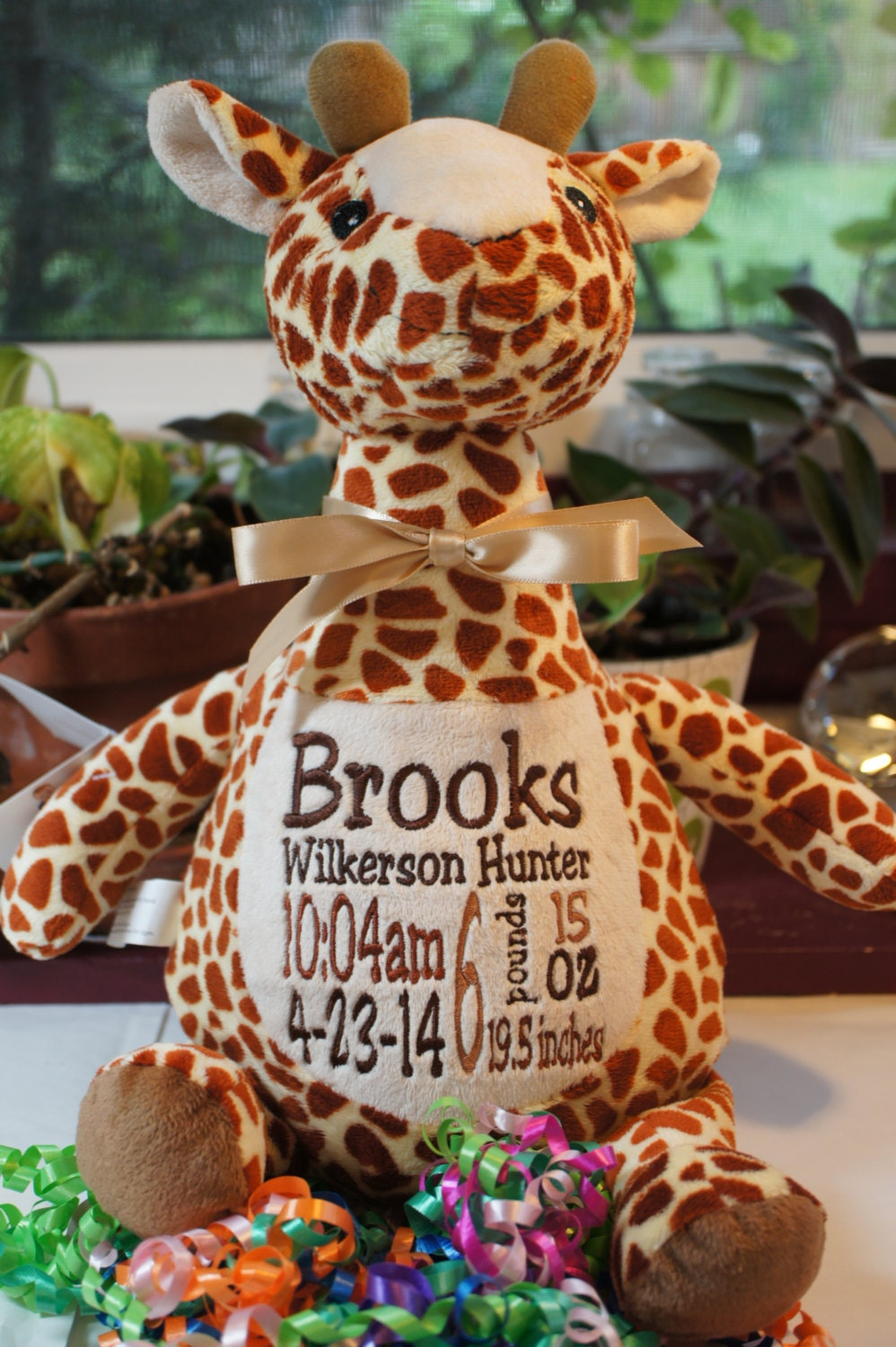 Personalized Baby Gift Baby Cubby Tumbleberry