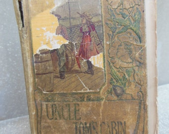 Very RARE: Uncle Tom's Cabin Book or Life Among the Lowly by Harriet Beecher Stowe